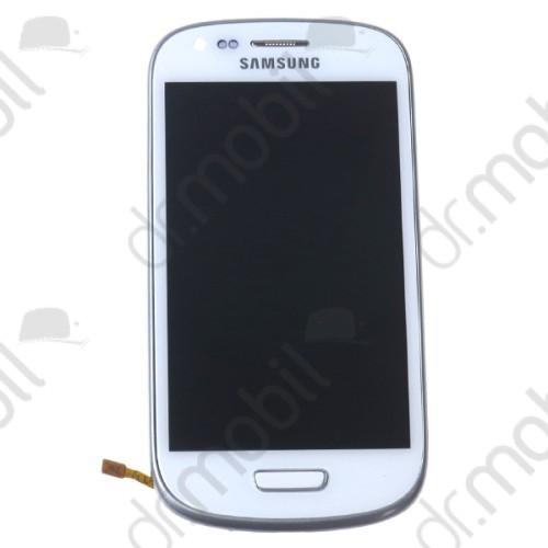 Kijelző érintőpanel Samsung GT-I8190 Galaxy S 3 mini LCD fehér