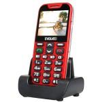 Mobiltelefon Evolveo Easyphone XD (piros) Nagy gomb és kijelző, vészhívó gomb!