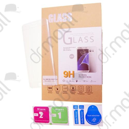 Képernyővédő üveg fólia Samsung SM-A320F Galaxy A3 (2017) átlátszó (karcálló, 9H, ultravékony) teljes kijelzős 3D Colorful Glass