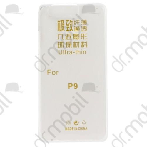 Tok telefonvédő gumi 0,3mm Huawei P9 ultravékony átlátszó