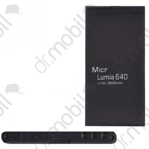 Akkumulátor Nokia Lumia 640 2600mAh Li-ion (BV-T5C kompatibilis)