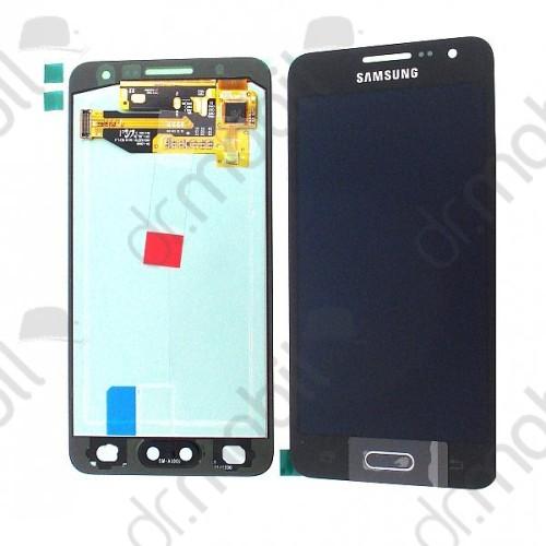 Előlap Samsung SM-A300 Galaxy A3 éintő + LCD kijelző (érintőkijelző) GH97-16747B fekete