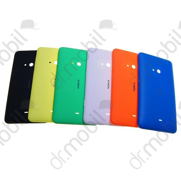 Akkufedél Nokia Lumia 625 (külső oldalgombok) fekete f14c2af906
