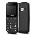 Mobiltelefon készülék Blaupunkt BS 02 fekete telefon időseknek