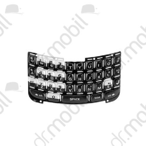 Billentyűzet BlackBerry 8310 Curve fekete QWERTY