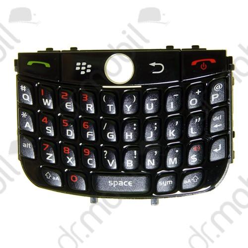 Billentyűzet BlackBerry 8900 Curve fekete QWERTY