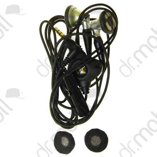 Fülhallgató vezetékes BlackBerry 8900 Curve sztereó, felvevőgombos, 3.5mm-es jack HDW-14322-001