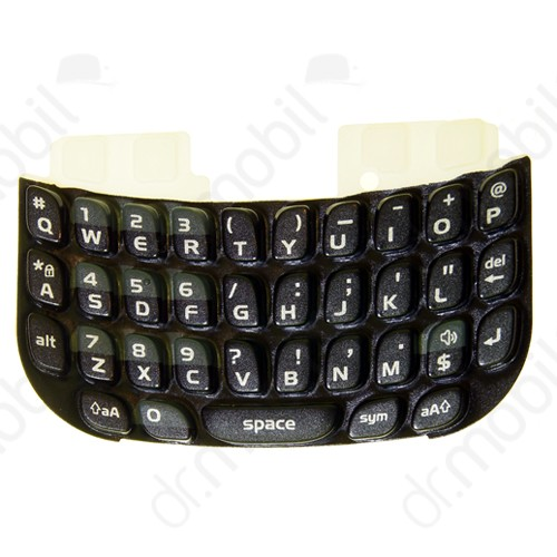 Billentyűzet BlackBerry 9300 Curve 3G fekete QWERTY